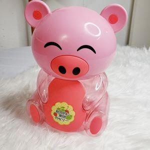 Kawaii Pink Plastic Piggy Bank Buta